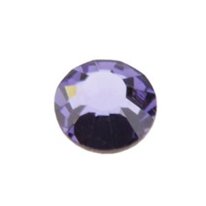 Crystal Tanzanite: Round Flat Back 6.6mm