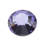 Crystal Tanzanite: Round Flat Back 7.4mm