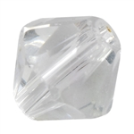 Crystal White: Bicone 6mm