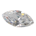 Cubic Zirconia - White Diamond - Marquise 6mm x 12mm