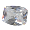 Cubic Zirconia - White Diamond - Barrel 5mm x 7mm