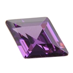 CZ: Amethyst - Diamond 9mm x 13mmCubic Zirconia - Amethyst - Diamond 9mm x 13mm Pkg - 1