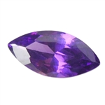 Cubic Zirconia - Amethyst - Marquise