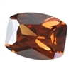 CZ: Smoked Topaz - Barrel - Checkerboard 12mm x 14mm Pkg - 1