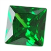 Cubic Zirconia - Columbian Emerald - Square 8mm