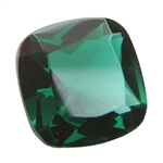 CZ: Columbian Emerald - Cushion 10mm Pkg - 1