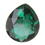 CZ: Columbian Emerald - Pear 12mm x 14mm Pkg - 1
