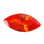 Cubic Zirconia - Fire Opal - Marquise 2mm x 4mm