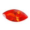 Cubic Zirconia - Fire Opal - Marquise 4mm x 8mm