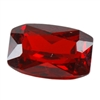 Cubic Zirconia - Hessonite Garnet - Barrel 4mm x 6mm