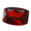 Cubic Zirconia - Hessonite Garnet - Barrel 5mm x 7mm