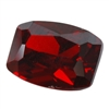 Cubic Zirconia - Hessonite Garnet - Barrel 6mm x 8mm