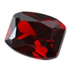 Cubic Zirconia - Hessonite Garnet - Barrel 8mm x 10mm