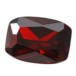 Cubic Zirconia - Hessonite Garnet - Barrel