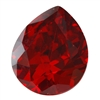 Cubic Zirconia - Hessonite Garnet - Pear 12mm x 14mm