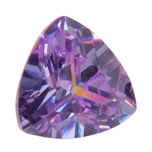 CZ: Trillion 8x8mm Lavender Pkg - 1