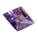 Cubic Zirconia - Lavender - Diamond 9mm x 13mm Pkg - 1