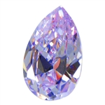Cubic Zirconia - Lavender - Pear 6mm x 9mm
