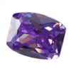 Cubic Zirconia - Lavender - Barrel 5mm x 7mm