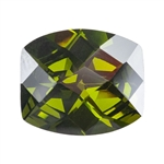 CZ: Olivine - Barrel - Checkerboard 12mm x 14mm Pkg - 1