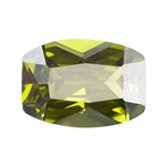 Cubic Zirconia - Olivine - Barrel 5mm x 7mm