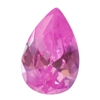 Cubic Zirconia - Pink Sapphire - Pear 5mm x 8mm