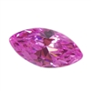 Cubic Zirconia - Pink Sapphire - Marquise 2mm x 4mm