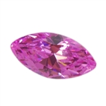 Cubic Zirconia - Pink Sapphire - Marquise