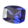 Cubic Zirconia - Tanzanite - Barrel 4mm x 6mm