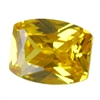 Cubic Zirconia - Yellow Diamond - Barrel 4mm x 6mm