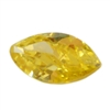 Cubic Zirconia - Yellow Diamond - Marquise 2mm x 4mm