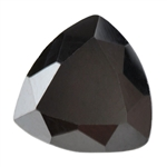 Cubic Zirconia - Jet Black - Trillion 8mm