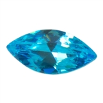 CZ: Blue Topaz - Marquise 3mm x 6mm
