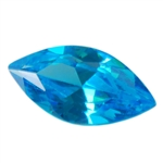 Cubic Zirconia - Blue Topaz - Marquise 4mm x 8mm