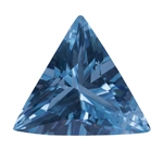 Cubic Zirconia - Blue Topaz - Triangle