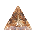 Cubic Zirconia - Champagne - Triangle