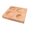 Four Round Groove Shaping Block