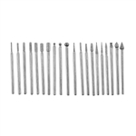 "Bits - Diamond 20 pc set - 3/32"" shank"