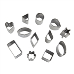 Premo Mini Shape Cutter Set - Basic Shapes
