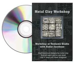 DVD: Metal Clay Workshop with Hadar Jacobson