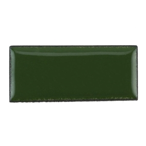 Medium Enamel Opaque Mistletoe Green