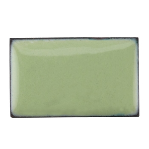 Medium Enamel Opaque Pea Green