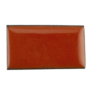 Medium Enamel Opaque Flame Orange