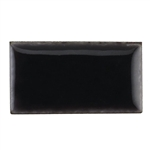 Medium Enamel Opaque Crackle Base Black