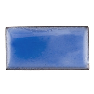 Medium Enamel Transparent Bonnet Blue