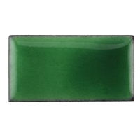 Medium Enamel Transparent Gem Green