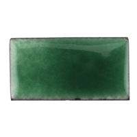 Medium Enamel Transparent Peacock Green