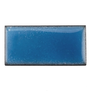 Medium Enamel Transparent Aqua Blue
