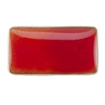 Medium Enamel Transparent Woodrow Red