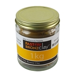 FASTfire BRONZclay 1 kilogram - 1 package